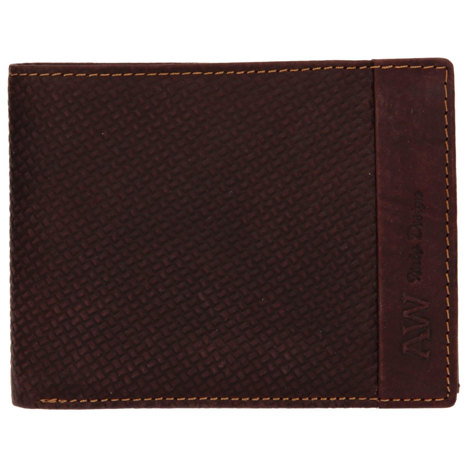 Pánska kožená peňaženka Always Wild Simmon - hnedá