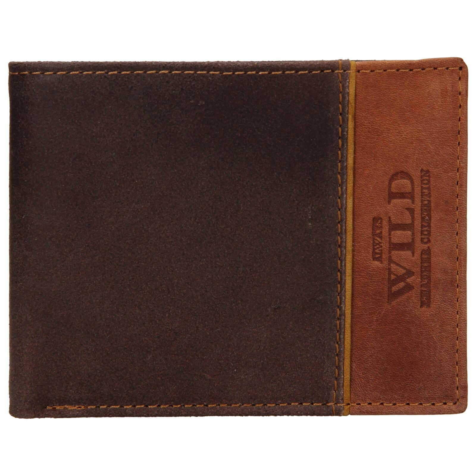 Pánska kožená peňaženka Always Wild Fredy - hnedá