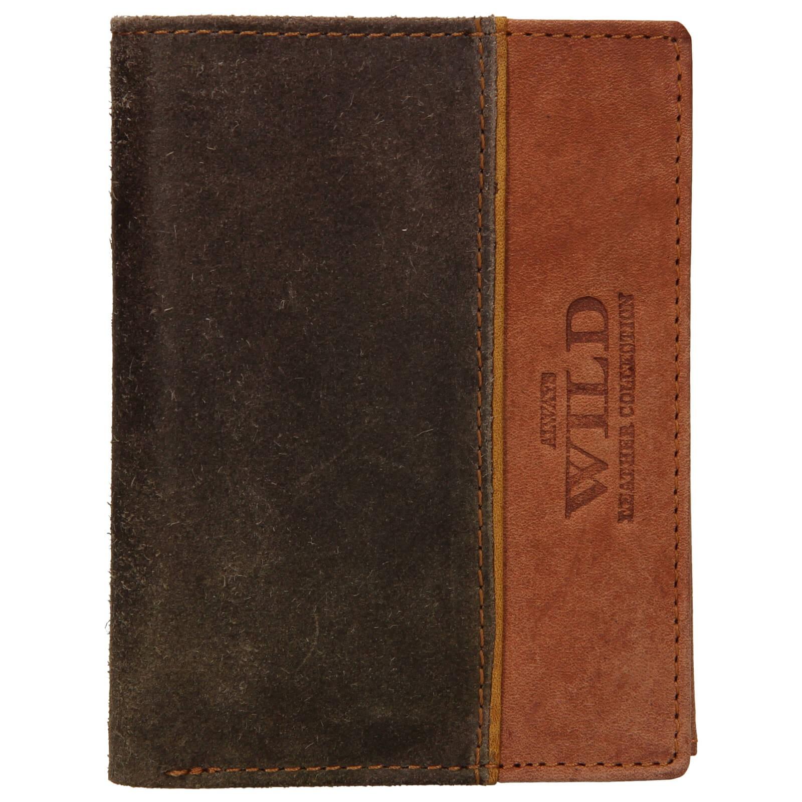 Pánska kožená peňaženka Always Wild Pierre - hnedá