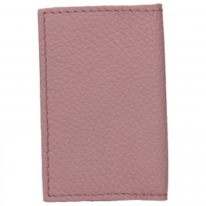 Kožený obal na karty Facebag Paris - ružová