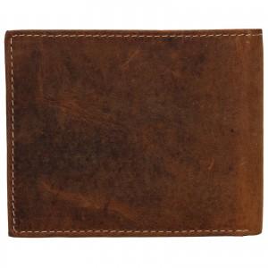 Pánska kožená peňaženka Wild Buffalo Tommy - svetlo hnedá