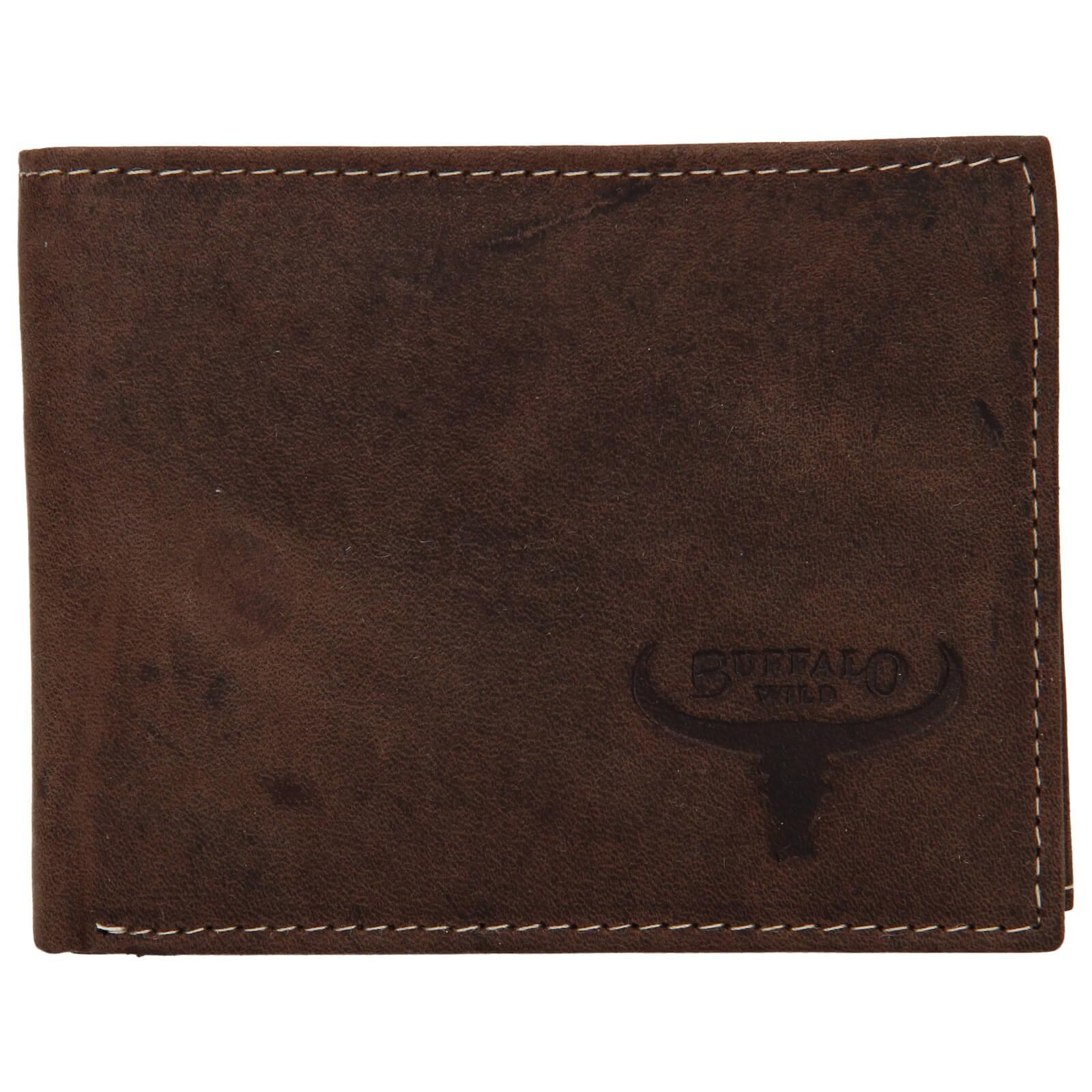 Pánska kožená peňaženka Wild Buffalo Radim - hnedá
