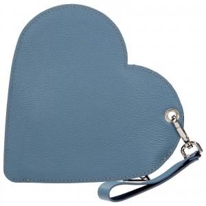 Trendy kožené psaníčko Facebag Love - modrá