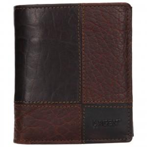 Pánska kožená peňaženka Lagen Apolo - tmavo hnedá