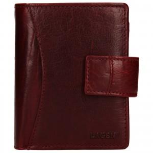 Dámska kožená peňaženka Lagen Lilly - červená
