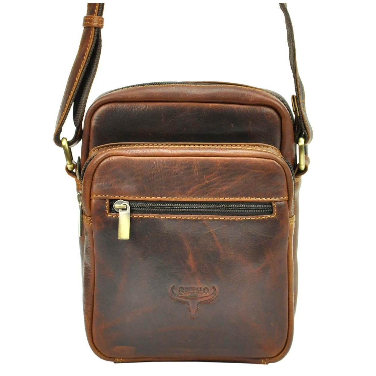 Pánská taška přes rameno Buffalo Wild Quido - hnedá