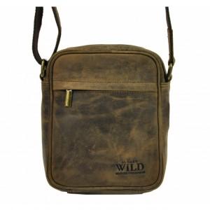 Pánská taška přes rameno Always Wild Filip - hnedá