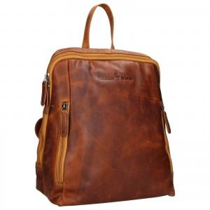 Kožený batoh Greenwood Liam - koňak