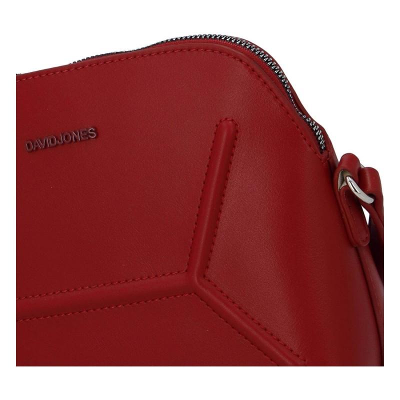 Dámska crossbody kabelka David Jones Kalle - červená