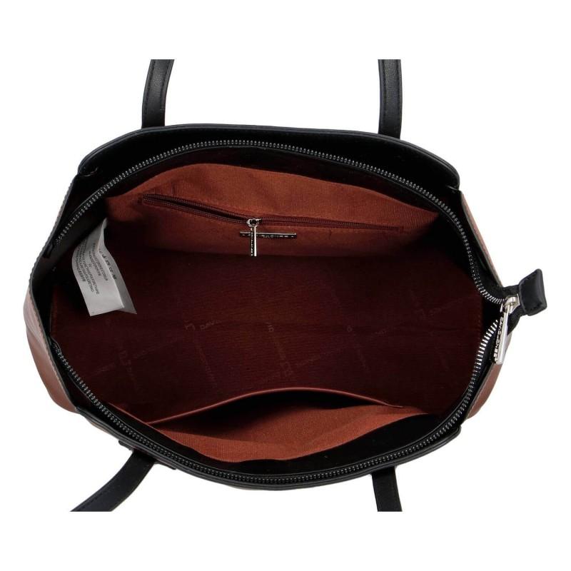 Dámska kabelka David Jones Helga - hnedá