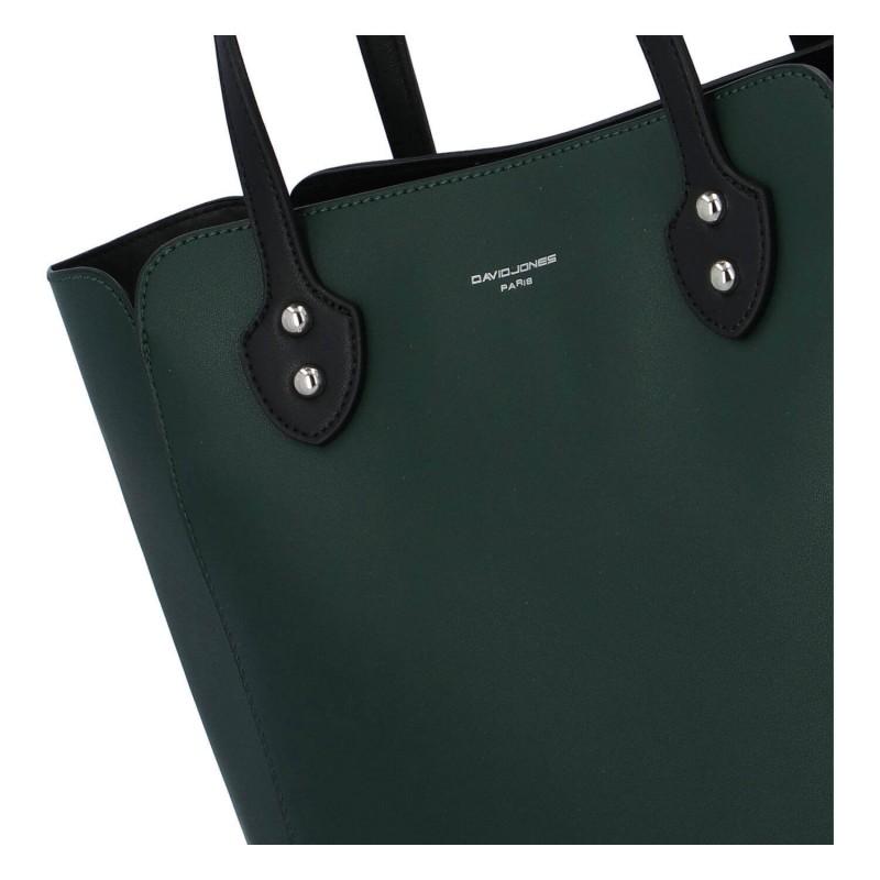 Dámska kabelka David Jones Helga - zelená
