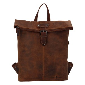 Kožený batoh Greenwood Town - hnedá