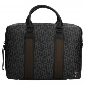 Pánska taška na notebook Tommy Hilfiger Kenny - čierna