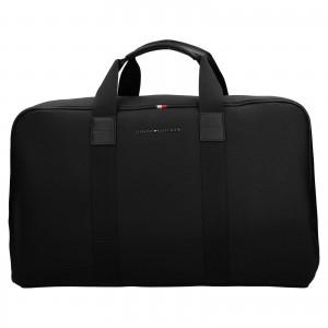 Pánska cestovná taška Tommy Hilfiger Roben - čierna