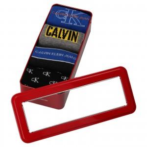 Darčeková sada ponožiek Calvin Klein Denis - 4 páry