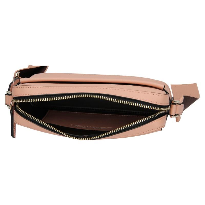 Dámska crossbody kabelka Calvin Klein Apolenas - ružová