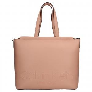 Dámska kabelka Calvin Klein Bonny - hnedá