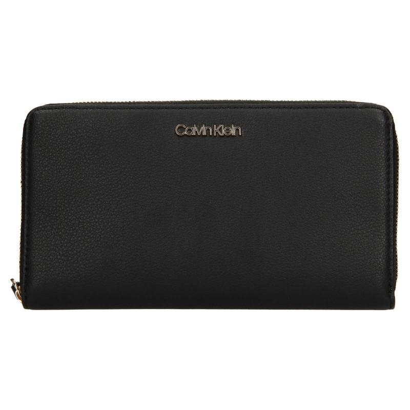 Dámska peňaženka Calvin Klein Wallie - čierna