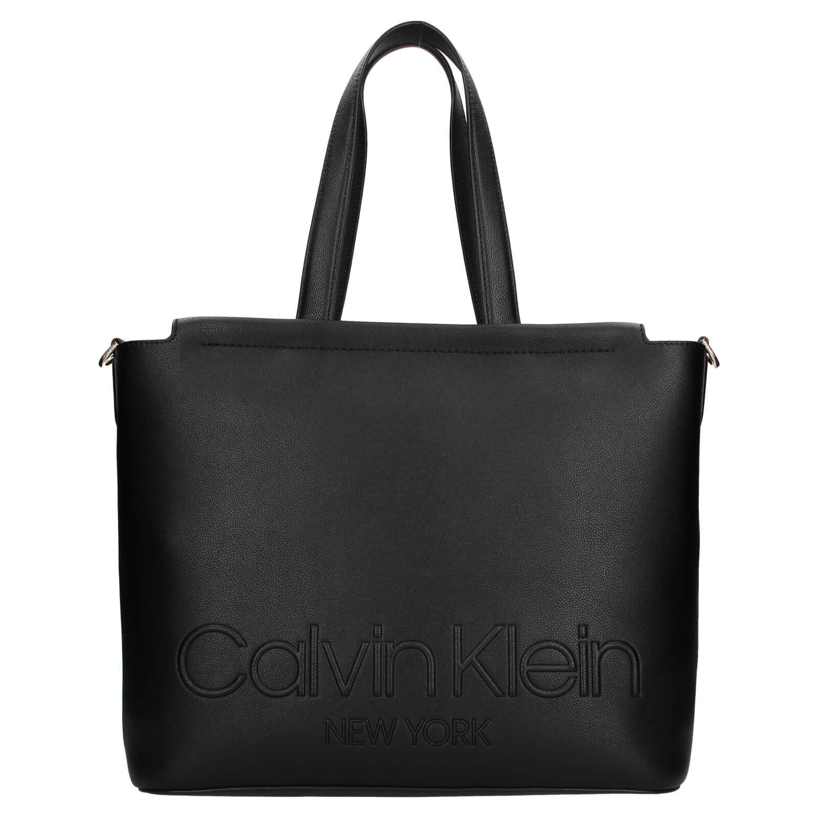 Dámska kabelka Calvin Klein Vivas - čierna