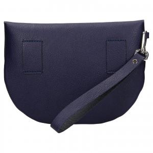 Trendy dámska kožená ľadvinka Facebag Alena - modrá