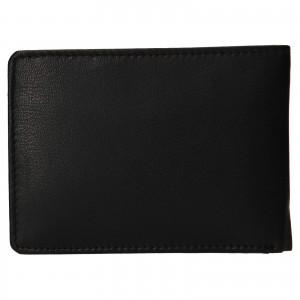 Pánska kožená peňaženka Bugatti Hanke - čierna
