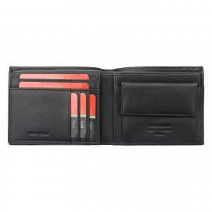 Pánska kožená peňaženka Pierre Cardin Oddfrid - tmavo hnedá