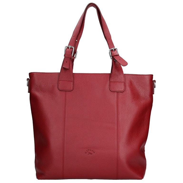 Luxusná kožená dámska kabelka značky Katana!
