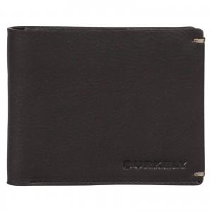Pánska kožená peňaženka Burkely Neah - čierna