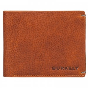 Pánska kožená peňaženka Burkely Neah -koňak