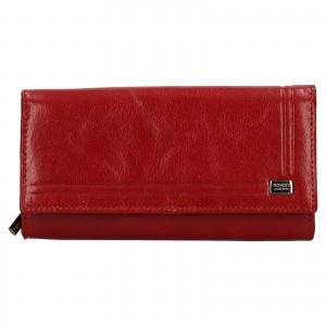 Dámska kožená peňaženka Rovicky Federica - červená