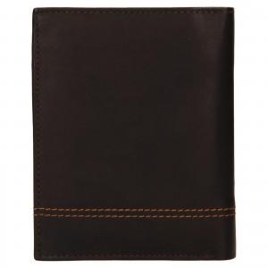 Pánska kožená peňaženka Diviley Vilém - hnedá