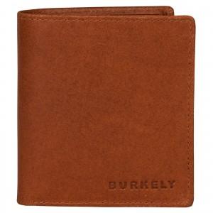 Pánska kožená peňaženka Burkely Vintage - koňak