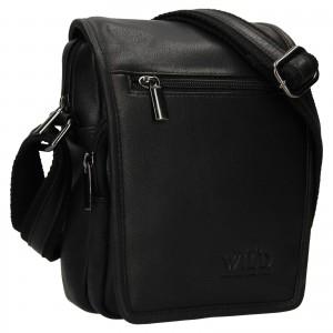 Pánska taška cez rameno Always Wild Vilden - čierna