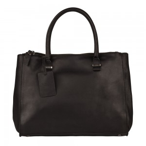 Dámska kožená kabelka Burkely Alice - tmavo hnedá