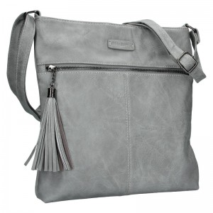 Dámska crossbody kabelka Enrico Benetti 66233 - tmavo šedá