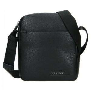 Pánska taška cez rameno Calvin Klein Fénix - čierná