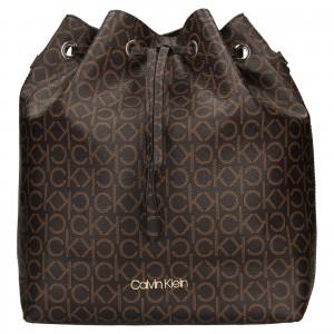Dámska kabelka Calvin Klein Sára - hnedá