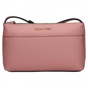 Dámska crossbody kabelka Calvin Klein Kanea - ružová
