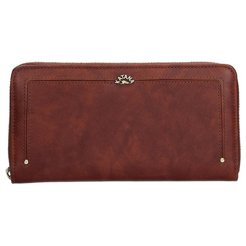 Dámska kožená peňaženka Katana Paula - hnedá