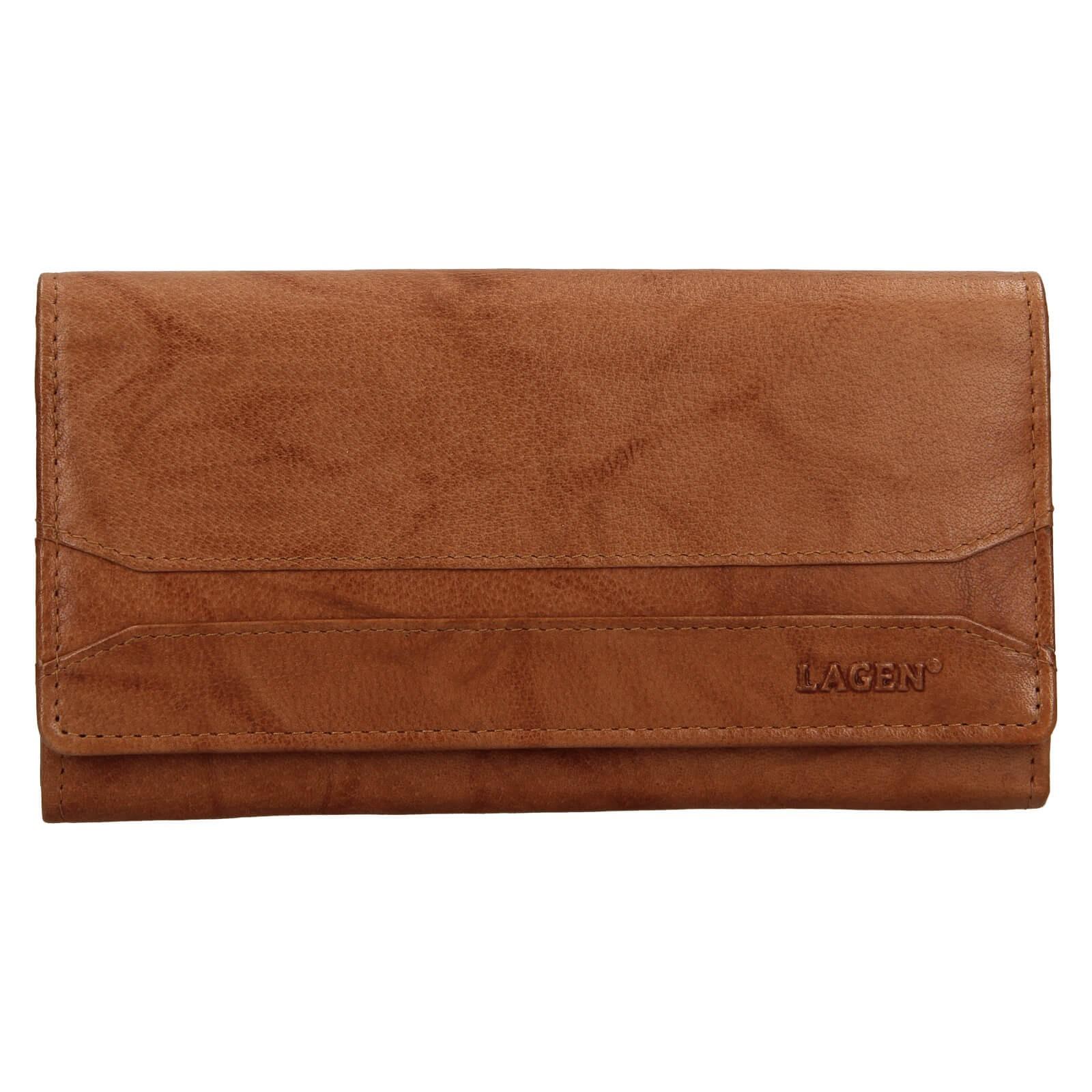 Dámska peňaženka Lagen Camilla - koňak