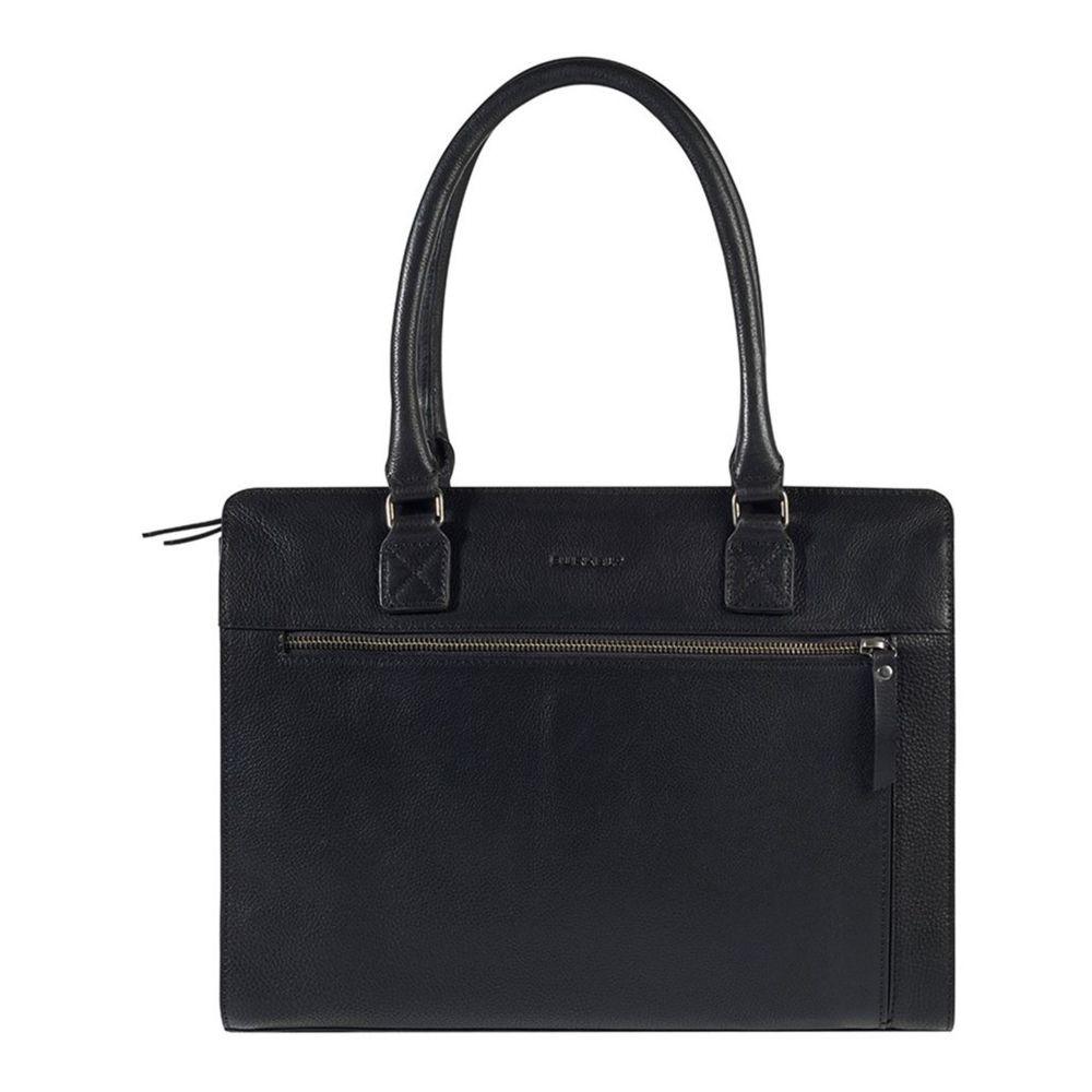 Dámska kožená kabelka Burkely Dennis - čierna