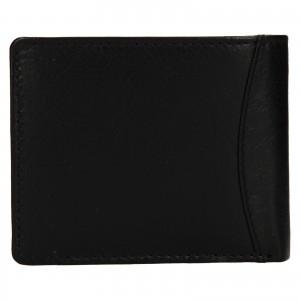 Pánska kožená peňaženka Lagen Felixe - čierna