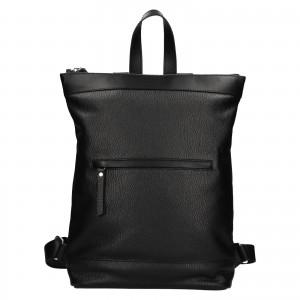 Kožený batoh Facebag Luciens - černá
