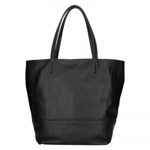 Dámska kožená kabelka Ripani Ditte - čierna