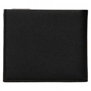 Pánska kožená peňaženka Calvin Klein Dorn - čierna