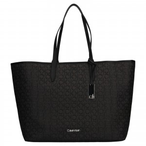 Dámska kabelka Calvin Klein Hankas - čierna