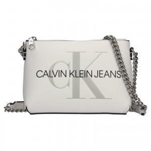 Dámska crossbody kabelka Calvin Klein Jeans Norra - biela