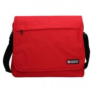 Pánska taška cez rameno Enrico Benetti Rudolf - červená