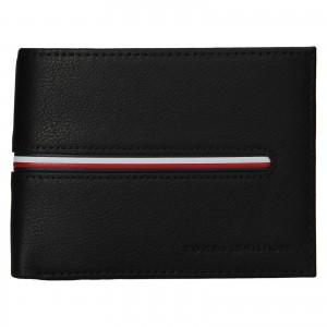 Pánska kožená peňaženka Tommy Hilfiger Otto - tmavo modrá
