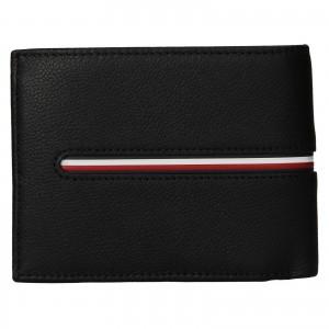 Pánska kožená peňaženka Tommy Hilfiger Bruno - čierna
